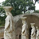 Caryatids, Hadrian's Villa, Tivoli, near Rome by BronReid