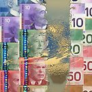 Pure Gold - Selection of Canadian Paper Currency by Serge Averbukh