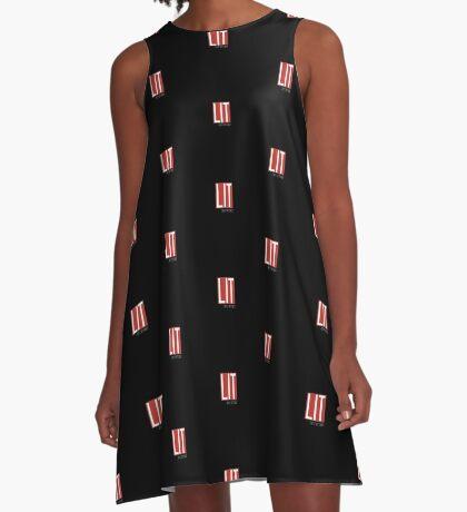 LIT Urban Dictionary Millennial Quote Lit Definition A-Line Dress