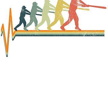 Baseball heartbeat by 4tomic