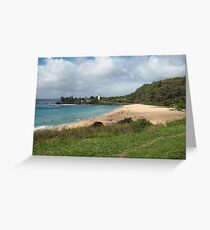 Waimea Bay, Oahu, Hawaii Greeting Card