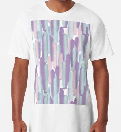 Crowd #redbubble #abstractart Long T-Shirt