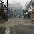 Streets of Sauraha - Nepal by Leesa Habener