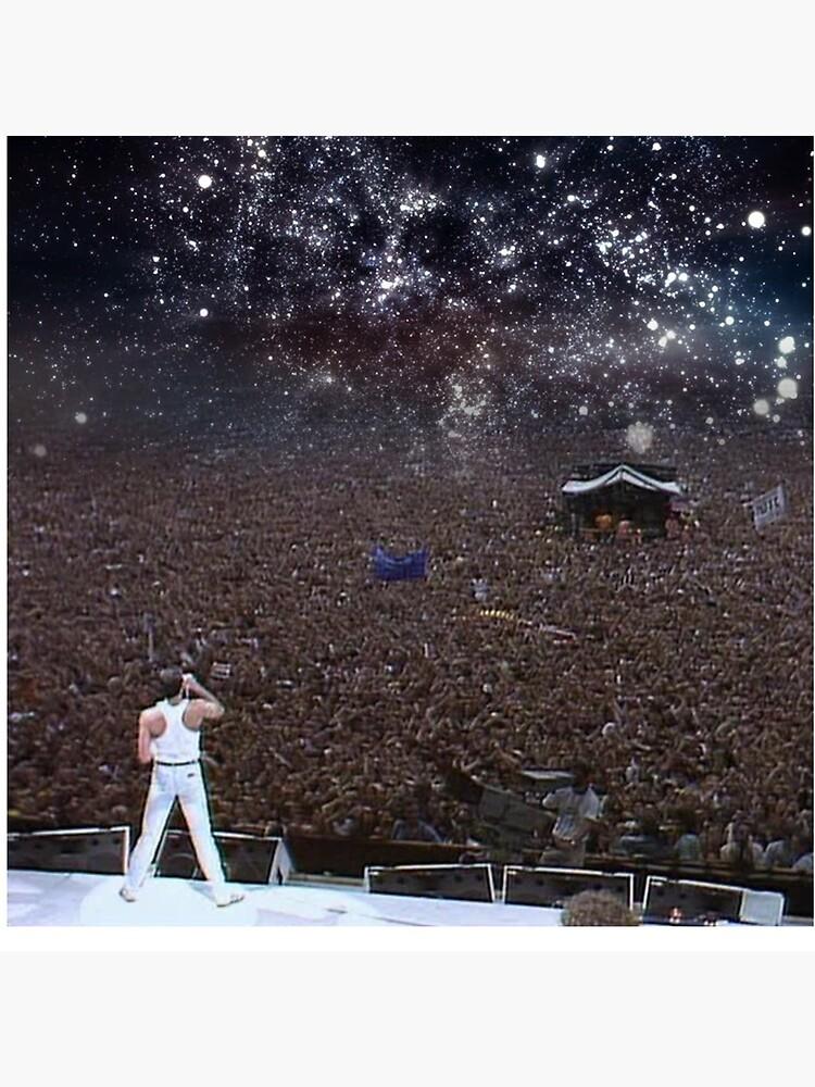 Freddy Mercury Wembley Stadium 1986 de Fatedfsho