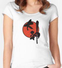 Okami Logo Women's Fitted Scoop T-Shirt