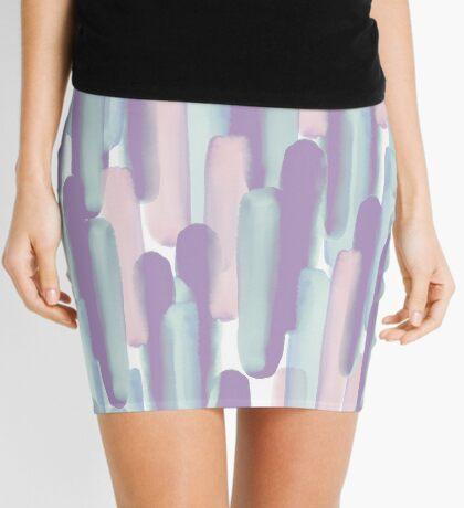 Crowd #redbubble #abstractart Mini Skirt
