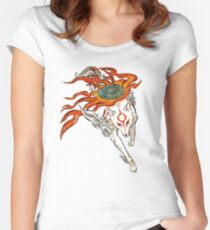 Amaterasu Women's Fitted Scoop T-Shirt