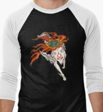 Amaterasu Men's Baseball ¾ T-Shirt