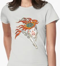 Amaterasu Womens Fitted T-Shirt