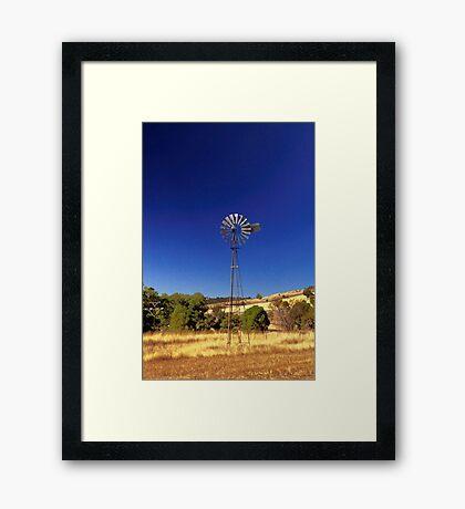 Farm Windmill  Framed Print