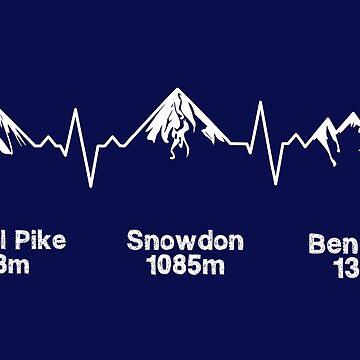 Three Peaks ECG Dark Version by eldram