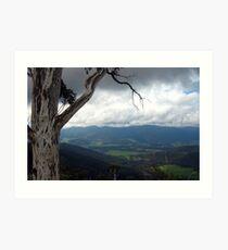 View from Mount Buffalo Art Print