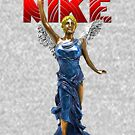 Nike Goddess of Victory by EyeMagined