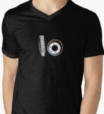 Spring Exhaust Men's V-Neck T-Shirt