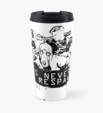 We never die! Travel Mug