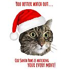 Carolling Christmas Furries – Tabby Cat (red text) by RulaVam