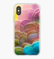 Mermaid Scale Paillettes Photographed Through A Prism iPhone Case