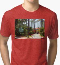 Beverly Hills Hotel California Tri-blend T-Shirt