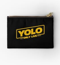 YOLO - You Only Live Once (SOLO style) Studio Pouch