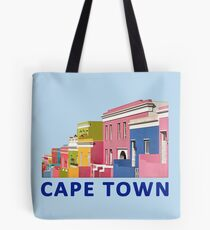 Bo-Kaap Street, Cape Town, South Africa Tote Bag