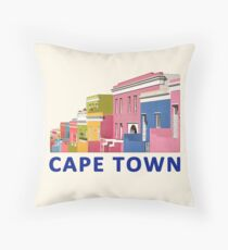 Bo-Kaap Street, Cape Town, South Africa Floor Pillow