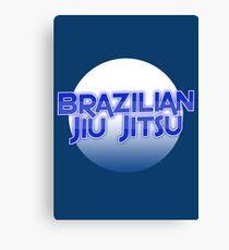 Brazilian Jiu Jitsu Canvas Print