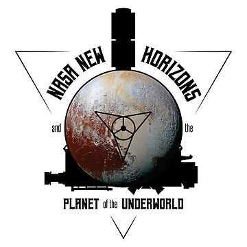 New Horizons and the Planet of the Underworld by photonart