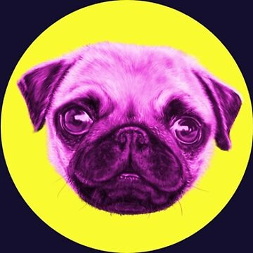 Pop Art Pug Trio by brodyquixote