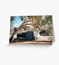 Finke Camping Greeting Card