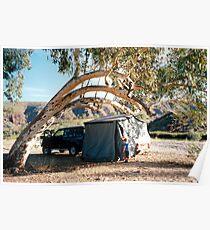 Finke Camping Poster