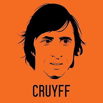 Johan Cruyff Vector Design - T Shirt | Poster | Mug | Phone Case | Wall Art | Home Decor and more | Netherlands by footballicon67