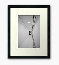 Porsche Museum - Hallway 1 Framed Print