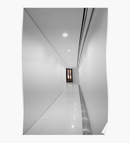 Porsche Museum - Hallway 1 Poster