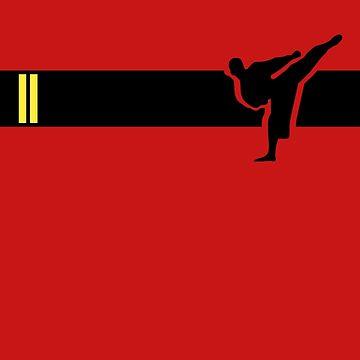 Taekwondo Stripes Black Belt 2nd Dan by sher00