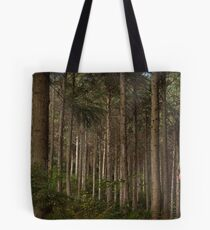 Forest Conifers Tote Bag
