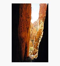 Golden Standley Chasm Photographic Print