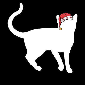 Christmas Cat Korat Cat Santa Christmas Cat Christmas Shirt by shoppzee
