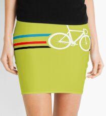 Bike Stripes Velodrome Mini Skirt