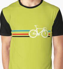 Bike Stripes Velodrome Graphic T-Shirt