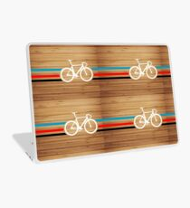 Bike Stripes Velodrome Laptop Skin