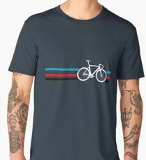 Bike Stripes Velodrome Men's Premium T-Shirt
