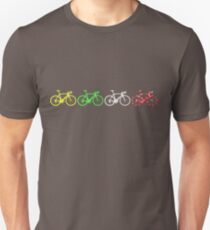 Camiseta unisex Bike Stripes Tour de France Jerseys v2
