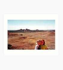 Outback Queensland Art Print