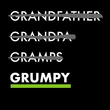 Funny Grumpy Grandpa Shirt Grandfather by TheTeeSupplyCo