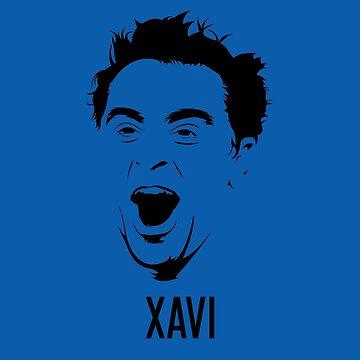 Xavi Hernandez Vector Design - T Shirt | Poster | Mug | Phone Case | Wall Art | Home Decor and more by footballicon67