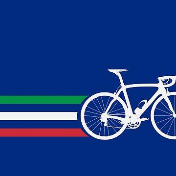 Bike Stripes Italian National Road Race v2 by sher00