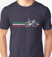 Bike Stripes Italian National Road Race v2 Slim Fit T-Shirt