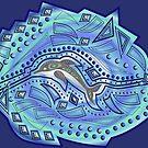 DOLPHIN ABSTRACT OCEAN 227. by sana90