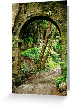 Old arch by Gaspar Avila