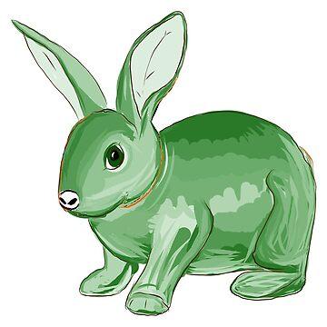 Green Bunny by niry
